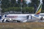 romyさんが、ペインフィールド空港で撮影したエチオピア航空 787-8 Dreamlinerの航空フォト(写真)