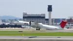 ザビエルさんが、伊丹空港で撮影した日本エアコミューター DHC-8-402Q Dash 8の航空フォト(写真)