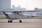 なごやんさんが、名古屋飛行場で撮影した日本モーターグライダークラブ 172Hの航空フォト(写真)