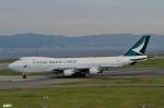 妄想竹さんが、関西国際空港で撮影したキャセイパシフィック航空 747-467F/ER/SCDの航空フォト(写真)