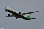 妄想竹さんが、関西国際空港で撮影したエバー航空 777-35E/ERの航空フォト(写真)