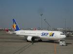 Rsaさんが、羽田空港で撮影したスカイマーク 767-38E/ERの航空フォト(写真)