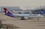 妄想竹さんが、関西国際空港で撮影したハワイアン航空 A330-243の航空フォト(写真)