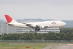 しかばねさんが、新千歳空港で撮影した日本航空 747-346の航空フォト(写真)