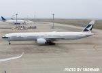中部国際空港 - Chubu Centrair International Airport [NGO/RJGG]で撮影されたキャセイパシフィック航空 - Cathay Pacific Airways [CX/CPA]の航空機写真