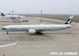 snowmanさんが、中部国際空港で撮影したキャセイパシフィック航空 777-367/ERの航空フォト(写真)