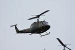 くーぺいさんが、旭川駐屯地で撮影した陸上自衛隊 UH-1Jの航空フォト(写真)