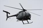 くーぺいさんが、旭川駐屯地で撮影した陸上自衛隊 OH-6Dの航空フォト(写真)