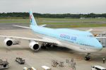 bonocyanさんが、成田国際空港で撮影した大韓航空 747-8B5の航空フォト(写真)