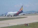 ナナオさんが、仁川国際空港で撮影したアシアナ航空 747-48Eの航空フォト(写真)