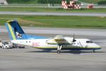 SFJ_capさんが、那覇空港で撮影した琉球エアーコミューター DHC-8-103Q Dash 8の航空フォト(写真)