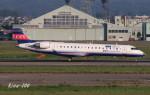 RINA-200さんが、小松空港で撮影したアイベックスエアラインズ CL-600-2C10 Regional Jet CRJ-702ERの航空フォト(写真)