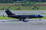 Espace77さんが、成田国際空港で撮影したアメリカ企業所有 BD-700 Global Express/5000/6000の航空フォト(写真)