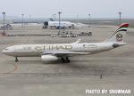 snowmanさんが、中部国際空港で撮影したエティハド航空 A330-243の航空フォト(写真)