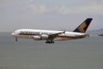 Masahiro0さんが、香港国際空港で撮影したシンガポール航空 A380-841の航空フォト(写真)