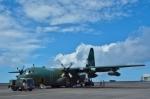 りゅうさんさんが、硫黄島航空基地で撮影した航空自衛隊 C-130Hの航空フォト(写真)