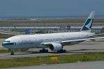 kansai-spotterさんが、関西国際空港で撮影したキャセイパシフィック航空 777-267の航空フォト(写真)