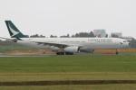 気分屋さんが、成田国際空港で撮影したキャセイパシフィック航空 A330-343Xの航空フォト(写真)