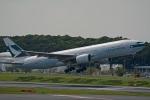 kansai-spotterさんが、成田国際空港で撮影したキャセイパシフィック航空 777-267の航空フォト(写真)