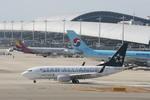 関西国際空港 - Kansai International Airport [KIX/RJBB]で撮影されたユナイテッド航空 - United Airlines [UA/UAL]の航空機写真