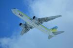 夏奈さんが、新千歳空港で撮影したAIR DOの航空フォト(写真)