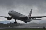 たっしーさんが、熊本空港で撮影した日本航空 767-346の航空フォト(写真)