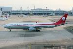 山河 彩さんが、関西国際空港で撮影した四川航空 A330-343Eの航空フォト(写真)