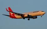 shimonさんが、シンガポール・チャンギ国際空港で撮影したカンタス航空 737-838の航空フォト(写真)