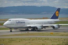 fukucyanさんが、関西国際空港で撮影したルフトハンザドイツ航空 747-830の航空フォト(写真)