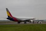 夢でゆなゆなさんが、新千歳空港で撮影したアシアナ航空 767-38Eの航空フォト(写真)