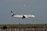 妄想竹さんが、羽田空港で撮影したスカイマーク 737-8HXの航空フォト(写真)
