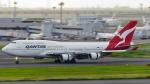 誘喜さんが、羽田空港で撮影したカンタス航空 747-48Eの航空フォト(写真)