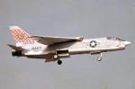apphgさんが、厚木飛行場で撮影したアメリカ海軍 F-8C Crusaderの航空フォト(写真)
