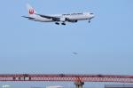 妄想竹さんが、羽田空港で撮影した日本航空 767-346/ERの航空フォト(写真)