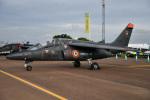 チャッピー・シミズさんが、フェアフォード空軍基地で撮影したARMEE DE L AIR Alpha Jet Eの航空フォト(写真)