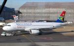 なごやんさんが、O・R・タンボ国際空港で撮影した南アフリカ航空 A320-232の航空フォト(写真)