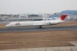 職業旅人さんが、伊丹空港で撮影した日本航空 MD-81 (DC-9-81)の航空フォト(写真)