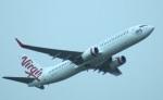 KAZKAZさんが、ブリスベン空港で撮影したヴァージン・オーストラリア 737-8FEの航空フォト(写真)