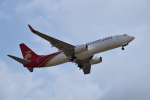 romyさんが、ペインフィールド空港で撮影した深圳航空 737-87Lの航空フォト(写真)
