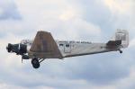 りんたろうさんが、フランクフルト・エーゲルスバッハ空港で撮影したJUエア Ju 52/3mg4eの航空フォト(写真)