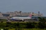 妄想竹さんが、富山空港で撮影したチャイナエアライン 737-809の航空フォト(写真)