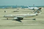 かみきりむしさんが、中部国際空港で撮影したエティハド航空 A330-243の航空フォト(写真)