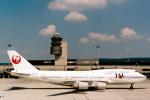 菊池 正人さんが、チューリッヒ空港で撮影した日本航空 747-446の航空フォト(写真)
