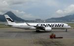 なごやんさんが、香港国際空港で撮影したフィンエアー A350-941XWBの航空フォト(写真)
