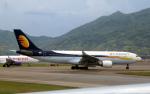 なごやんさんが、香港国際空港で撮影したジェットエアウェイズ A330-202の航空フォト(写真)