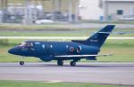 なごやんさんが、名古屋飛行場で撮影した航空自衛隊 U-125A(Hawker 800)の航空フォト(写真)
