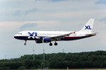 Gambardierさんが、デュッセルドルフ国際空港で撮影したXL航空 ジャーマニー A320-214の航空フォト(写真)