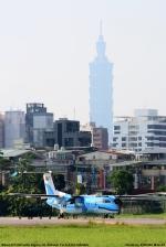 台北松山空港 - Taipei Songshan Airport [TSA/RCSS]で撮影された天草エアライン - Amakusa Airlines [MZ/AHX]の航空機写真