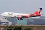 LSGさんが、仁川国際空港で撮影したマックス エア 747-4B5の航空フォト(写真)