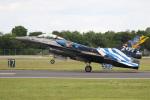 チャッピー・シミズさんが、フェアフォード空軍基地で撮影したギリシャ空軍 F-16 Fighting Falconの航空フォト(写真)